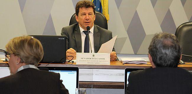 Senador Ivo Cassol defende mais investimentos na Agroindústria Familiar