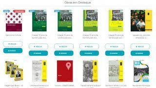 d99666497 Livraria do Senado oferece mais de cem livros digitais gratuitos