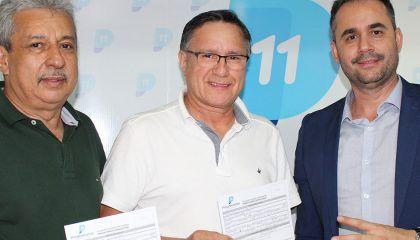 Em Porto Velho, secretário-geral dos Progressistas recebe novos filiados