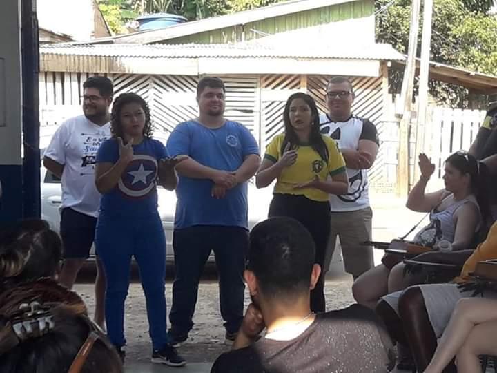 vereadora cristiane lopes conquista resultados para a comunidade surda - Vereadora Cristiane Lopes conquista resultados para a comunidade surda - progressistas rondônia