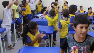 Com recursos de Aélcio da TV, escolas da Capital ganham novas salas de aulas