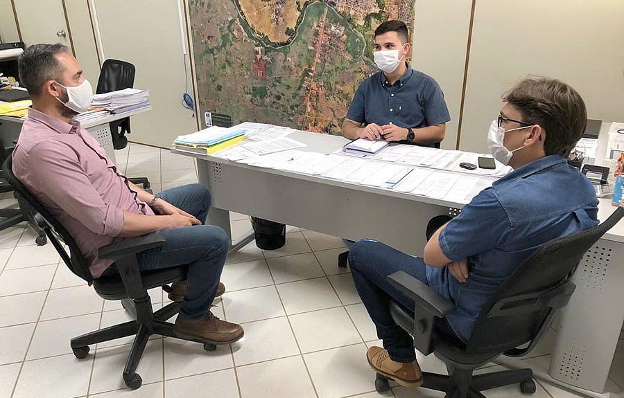 Prefeito e vice de Jaru recebem visita do secretário-geral dos Progressistas Rondônia - noticias - progressistas rondonia