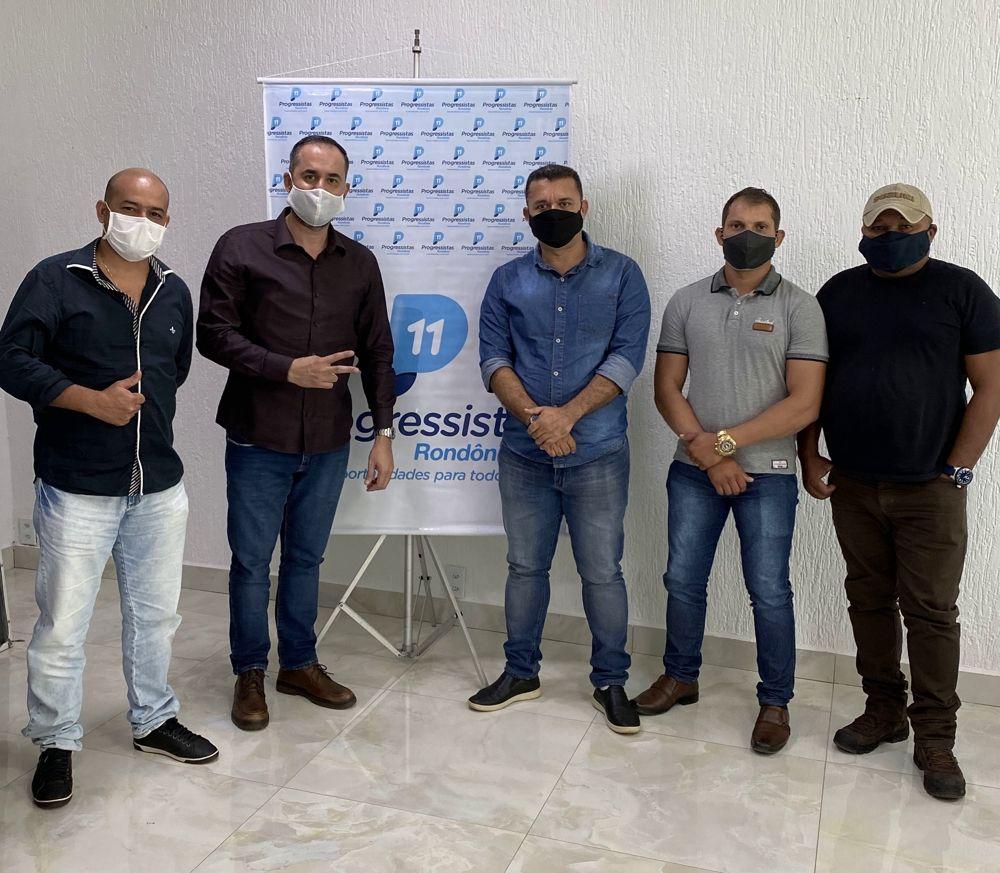 Secretário-geral dos Progressistas Rondônia recebe pré-candidatos do PP na sede do Diretório Estadual - noticias - progressistas rondonia