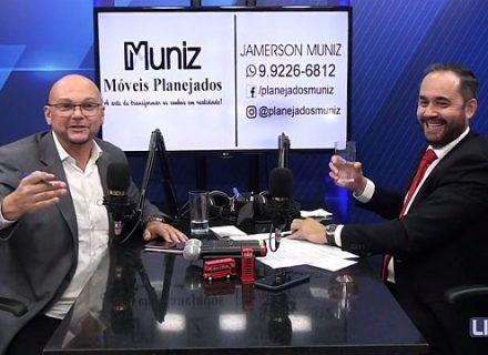 Durante entrevista ao Live TV, Dr. Luiz Paulo fala sobre os Progressistas e os investimentos de Jaqueline Cassol para Cacoal