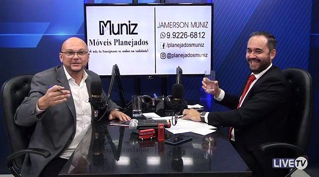 Durante entrevista ao Live TV, secretário-geral fala dos Progressistas Rondônia