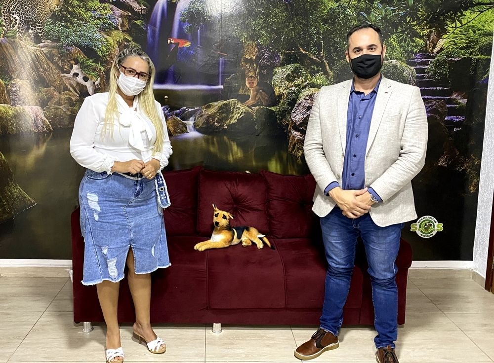 Vereadora recebe visita do secretário-geral dos Progressistas Rondônia - noticias - progressistas rondonia