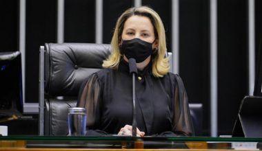 Deputada Jaqueline Cassol preside sessão da Câmara dos Deputados