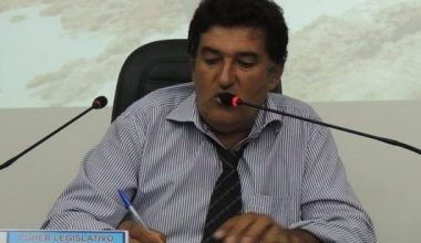 Vereador Adineudo Andrade acompanha obras do DER na BR 470